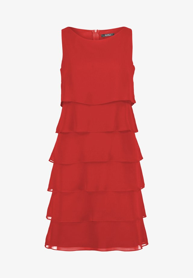 COCKTAILKLEID - Cocktail dress / Party dress - diva red