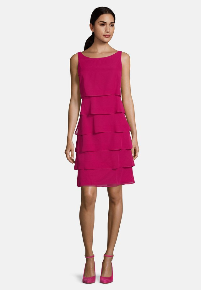 COCKTAILKLEID - Cocktail dress / Party dress - berry pink