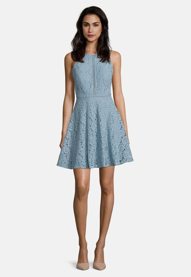 Day dress - aqua blue