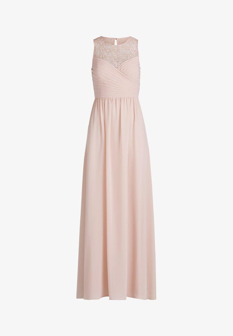 MIT STICKEREI - Cocktailkleid/festliches Kleid - pale rose