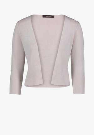 Cardigan - silver/nature