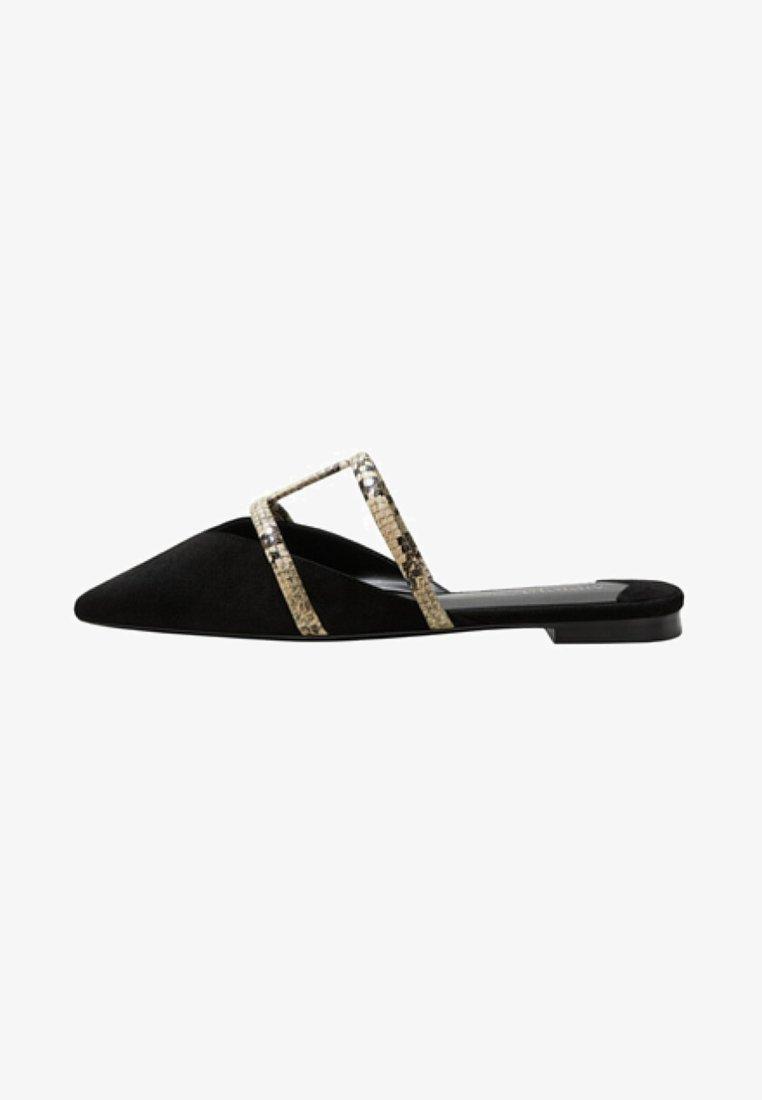 Violeta by Mango - MABEL - T-bar sandals - black
