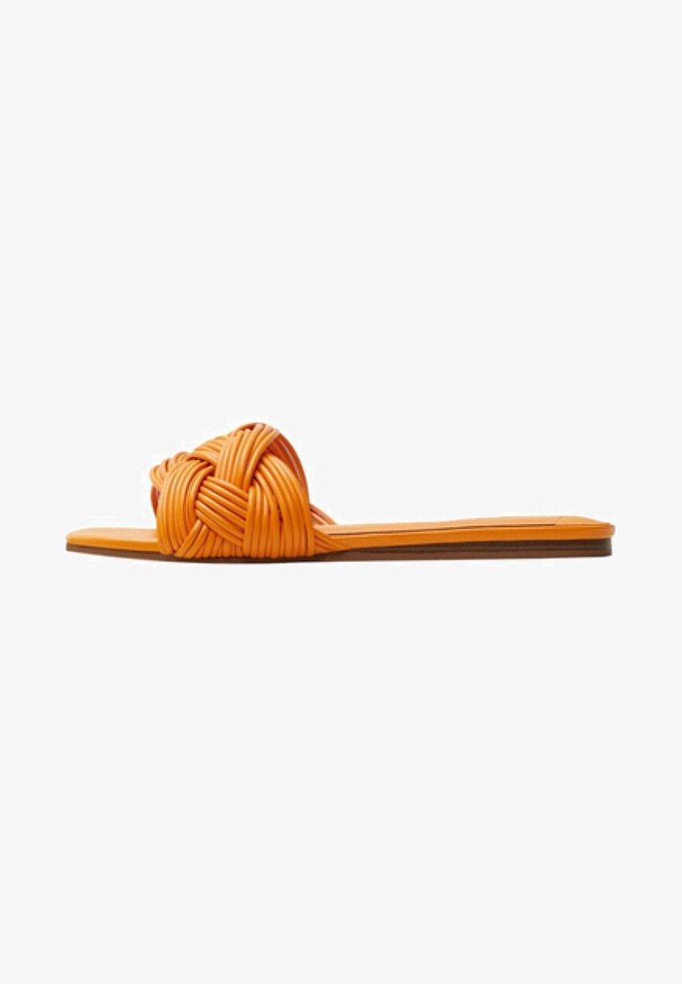 Violeta by Mango - REID - Slippers - orange