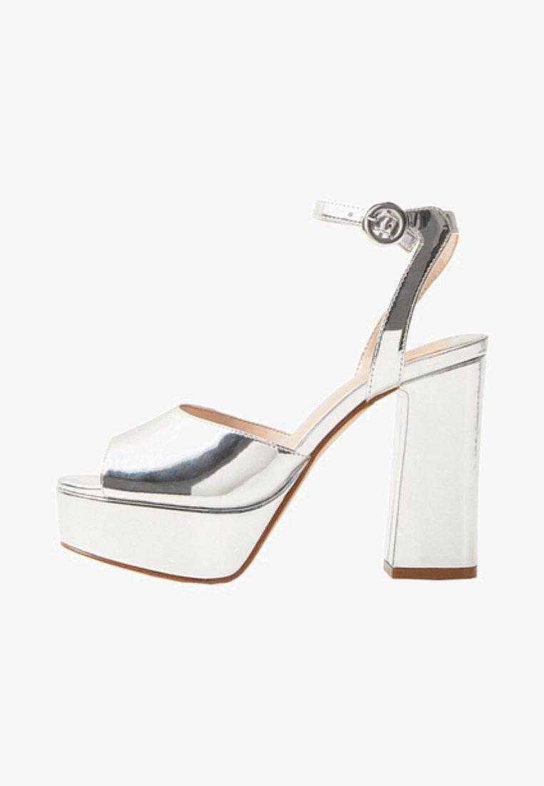 Violeta by Mango - Højhælede sandaletter / Højhælede sandaler - argent