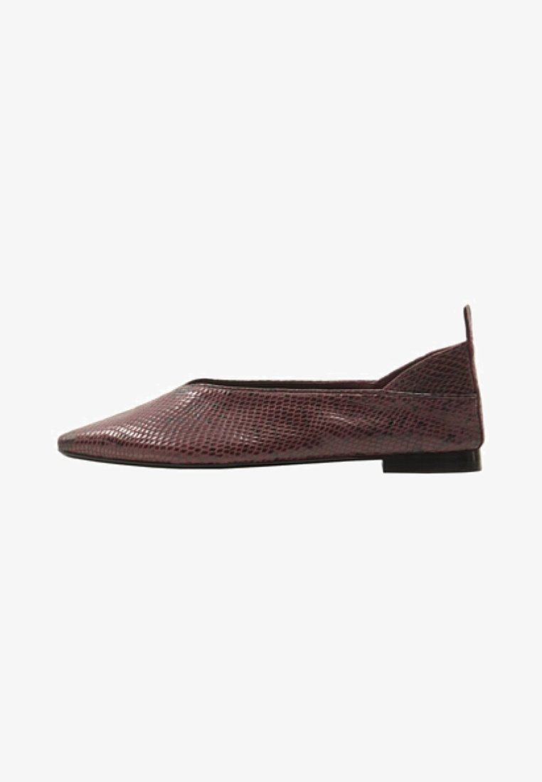 Violeta by Mango - Ballerines - bordeaux