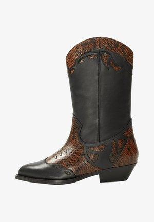 MONROE - Cowboy/Biker boots - black