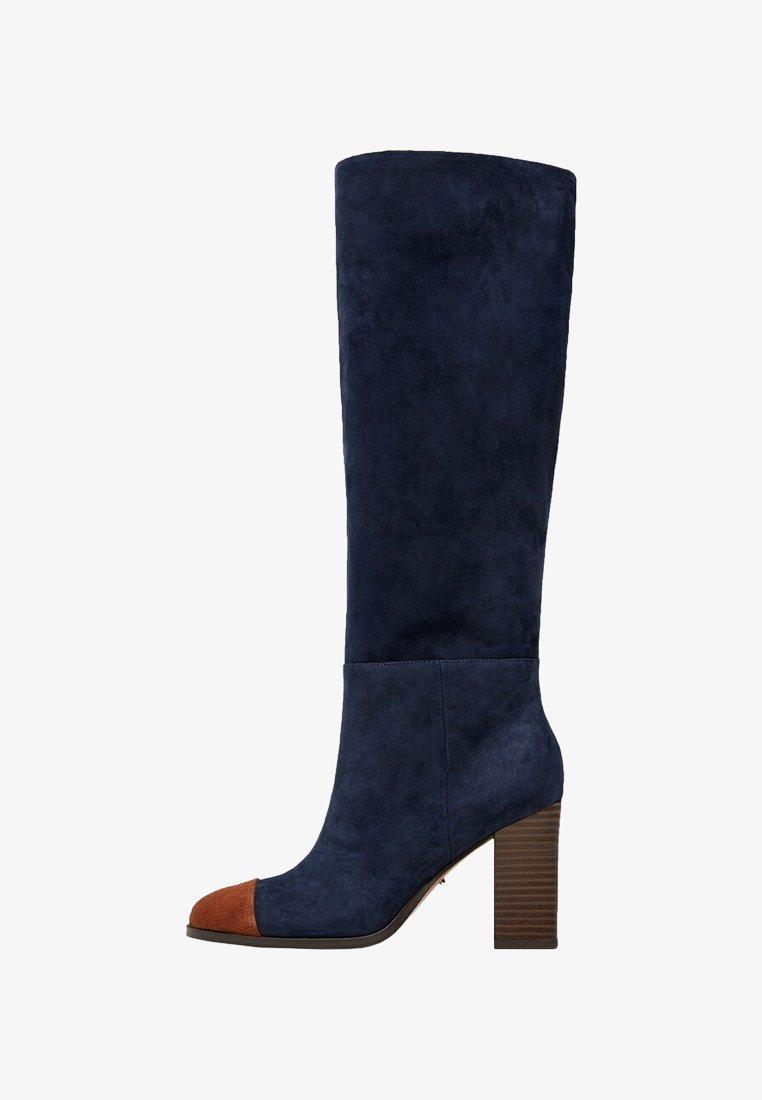 Violeta by Mango - GLAIN - Højhælede støvler - dark blue