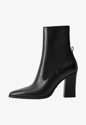 LAURA - High heeled ankle boots - black