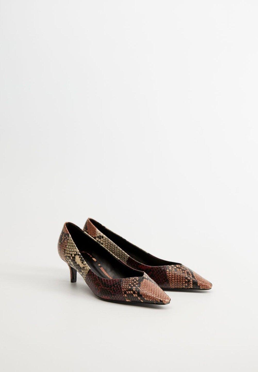 Violeta By Mango Sepa - Klassiske Pumps Brown