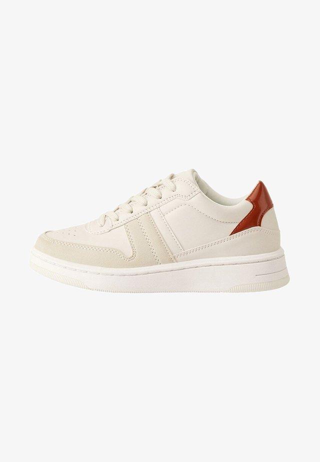 CLAUDE - Baskets basses - cream white