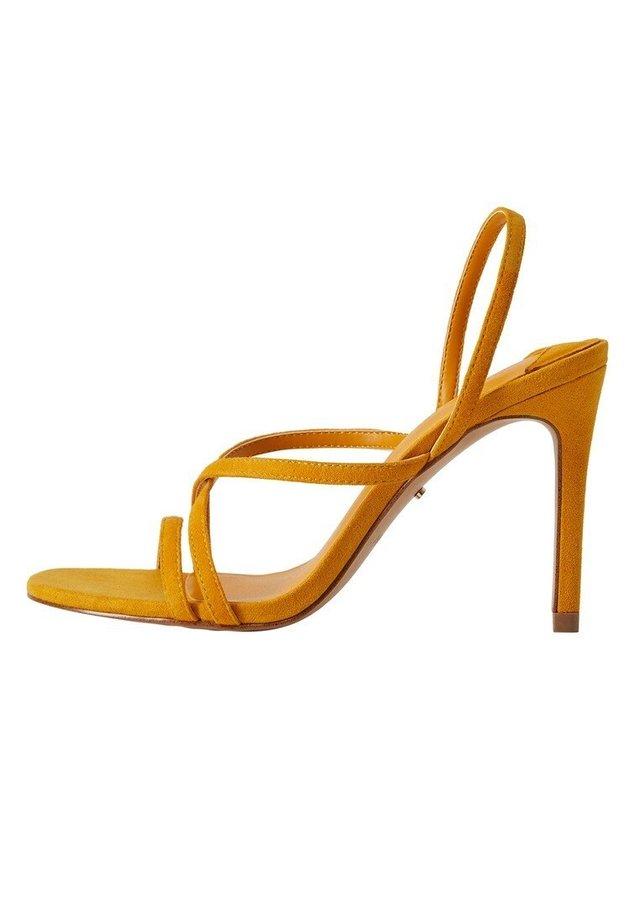 OLIMPIA - Sandales à talons hauts - gelb