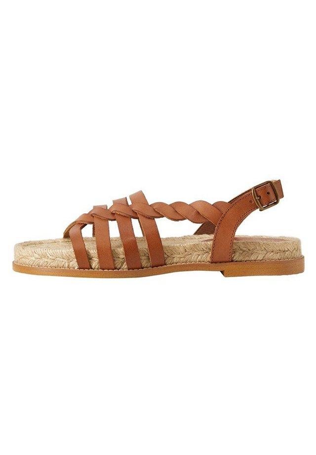 ANA - Sandals - braun