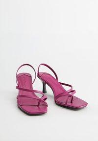 Violeta by Mango - DANNY - Flip Flops - brombeere - 2