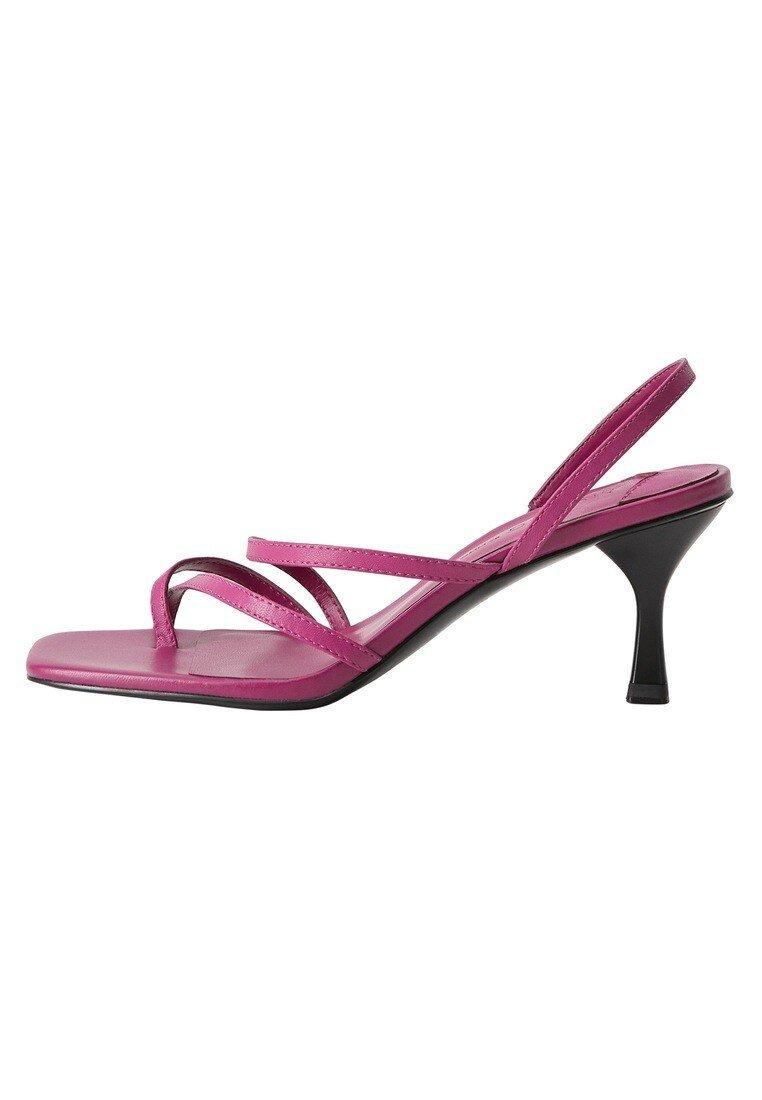 Violeta by Mango - DANNY - Flip Flops - brombeere