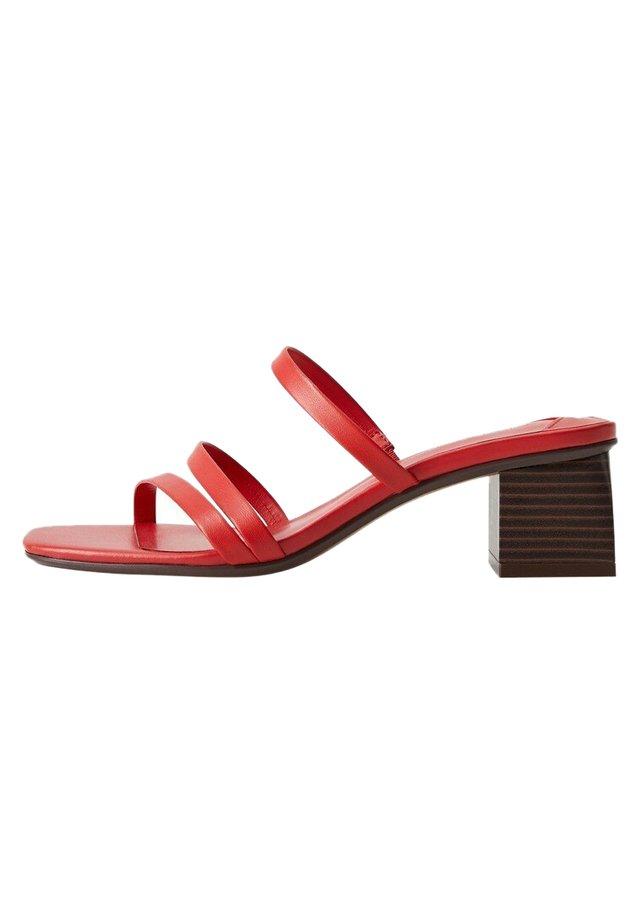 MARITA - Sandals - rot