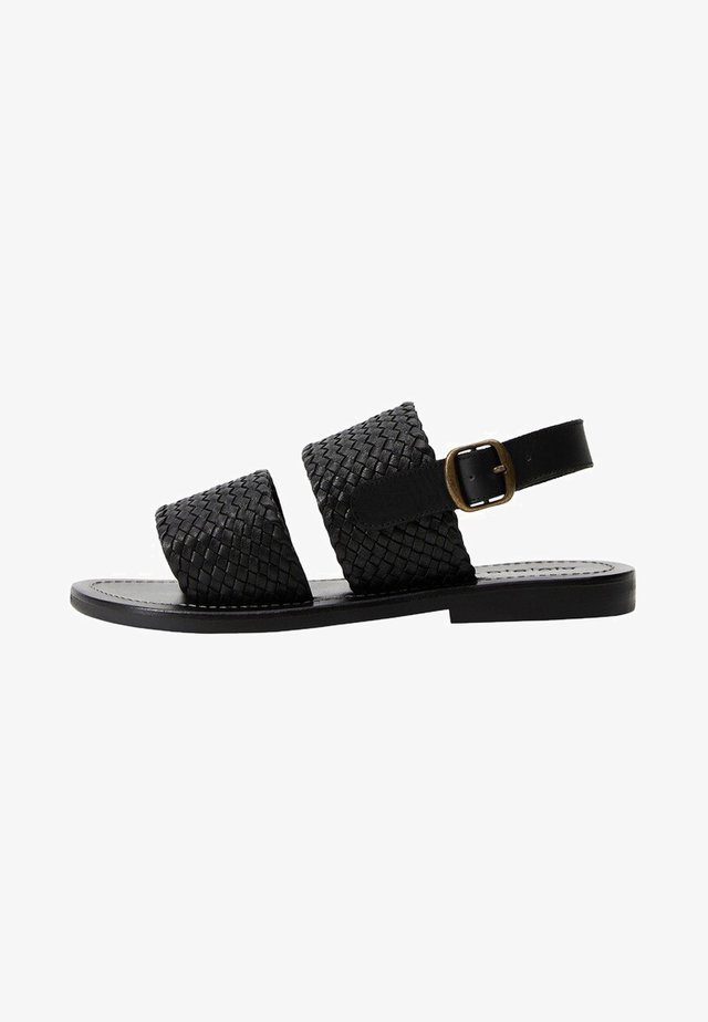 TIRAS - Sandaler - schwarz