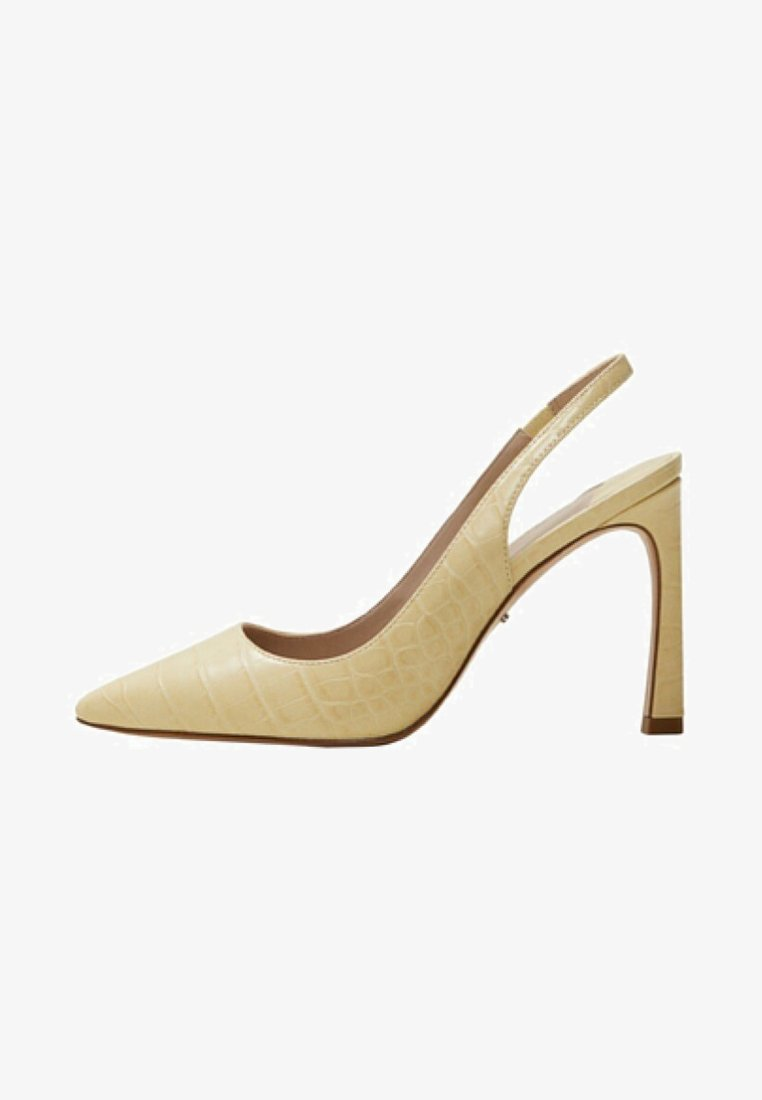 Violeta by Mango - NAYA - High heels - light yellow