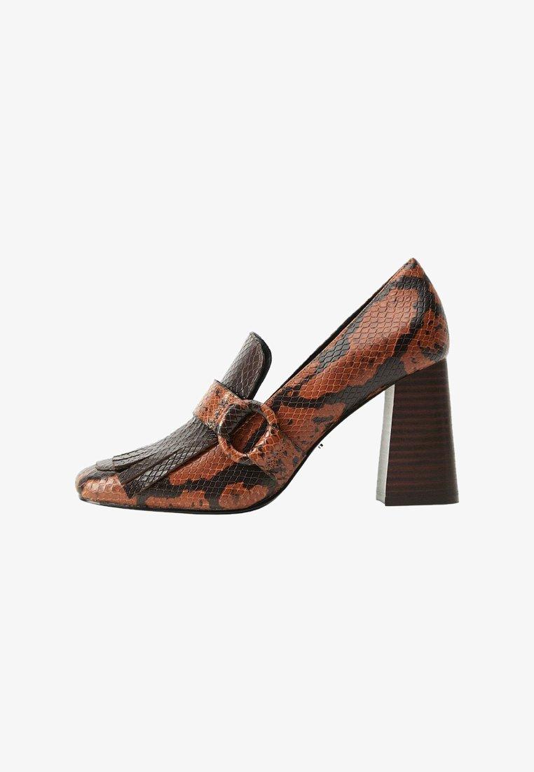 Violeta by Mango - LOLA - High heels - brown