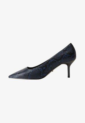 FLOR - Classic heels - petrolblue