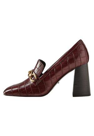 CHAIN - High heels - bordeaux