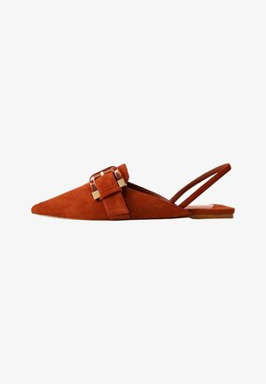 BUQ - Ballerines - brownish orange