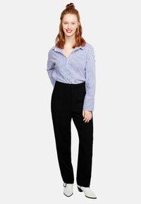 Violeta by Mango - LEONOR - Pantalon classique - black - 0