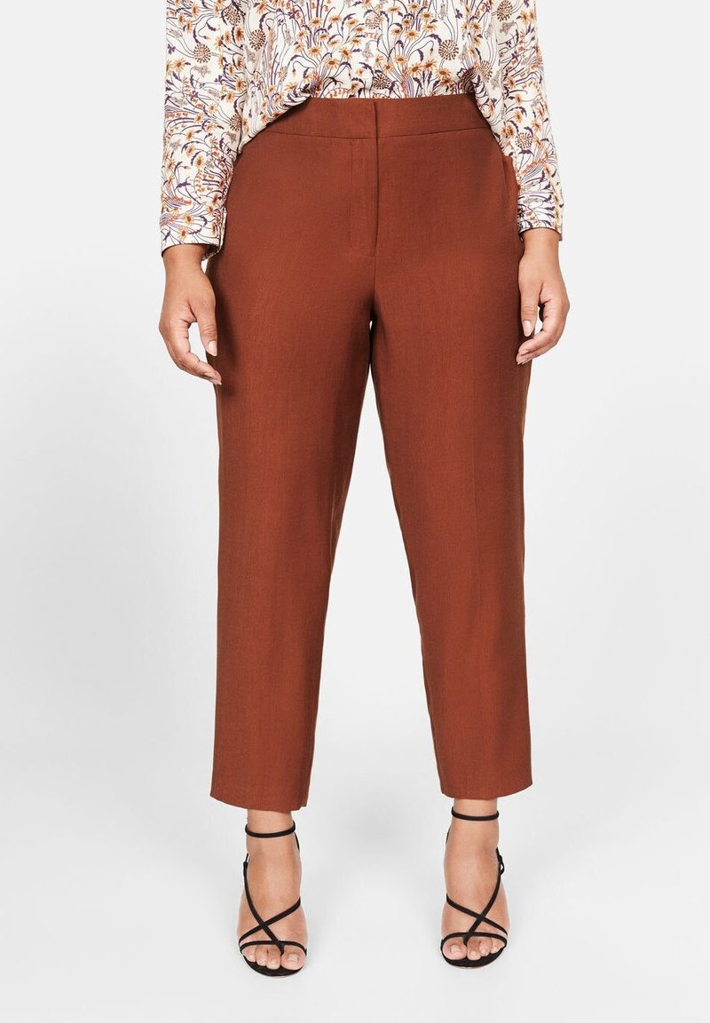 Violeta by Mango - FLEW - Trousers - caramel