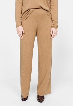 CASHLINI CASHMERE - Bukse - medium brown