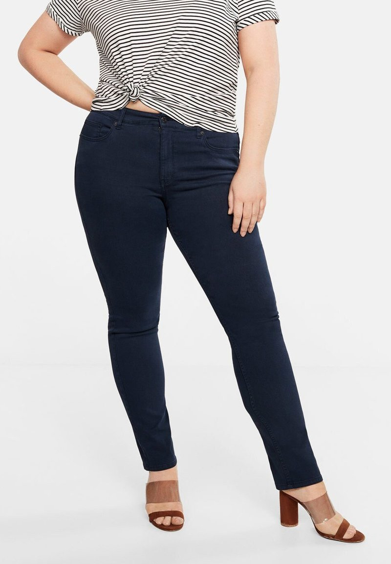 Violeta by Mango - JULIE - Jeans Slim Fit - royal blue