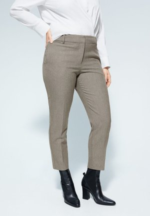 JOSE6 - Trousers - marrone