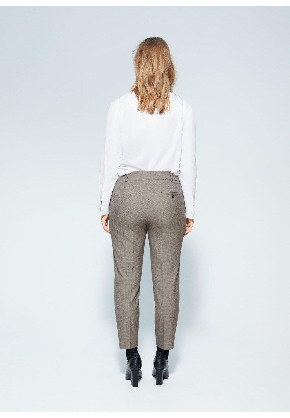 Violeta by Mango JOSE6 - Spodnie materiałowe - marrone