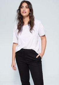 Violeta by Mango - JOSE6 - Trousers - black - 3