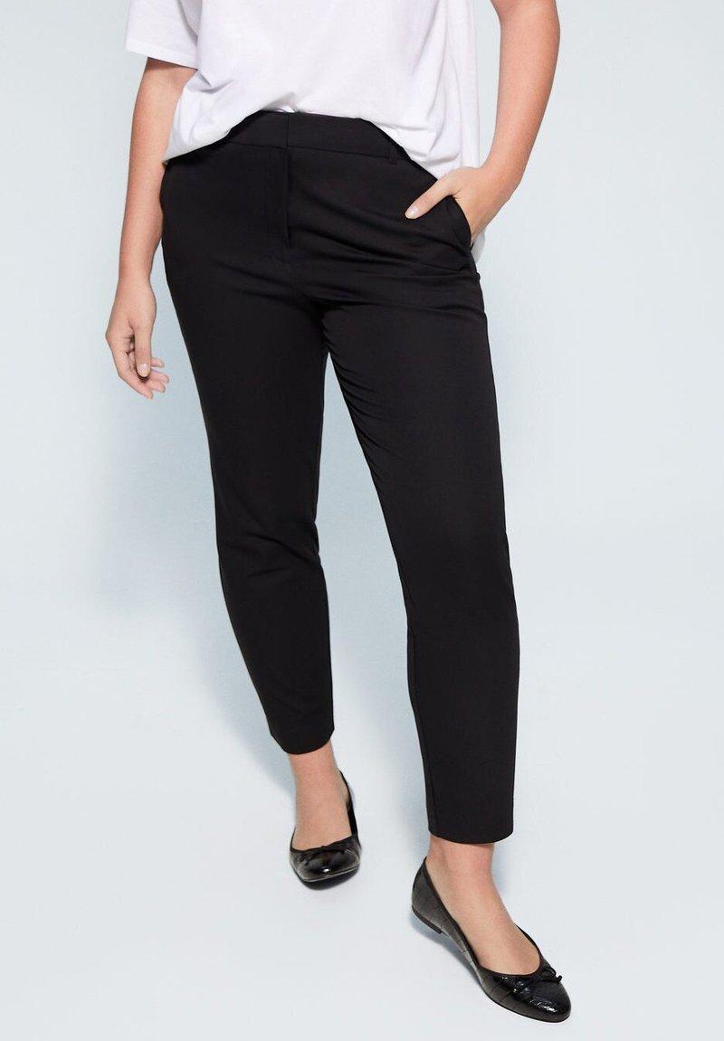 Violeta by Mango - JOSE6 - Trousers - black