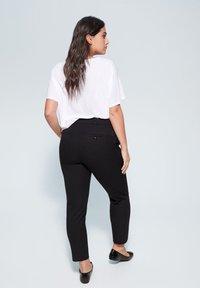 Violeta by Mango - JOSE6 - Trousers - black - 2