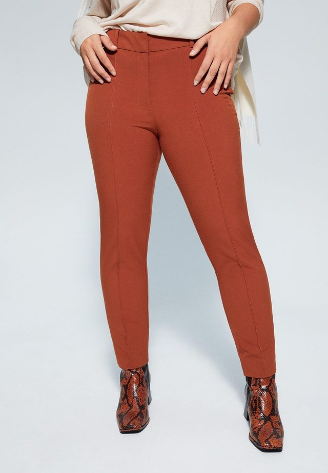 SLIPY - Trousers - caramel