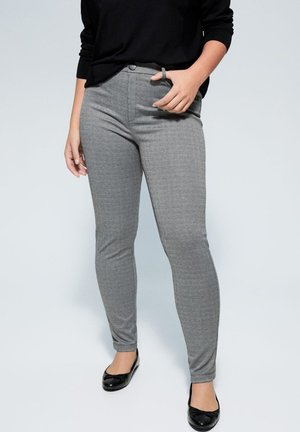 DUCK - Trousers - grey