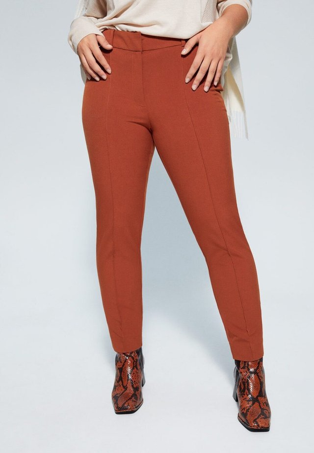 SLIPY - Trousers - camel