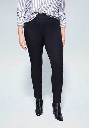 ELASTIC - Pantalones - black