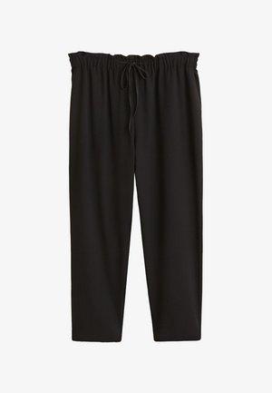 WAIKIKI - Trousers - black