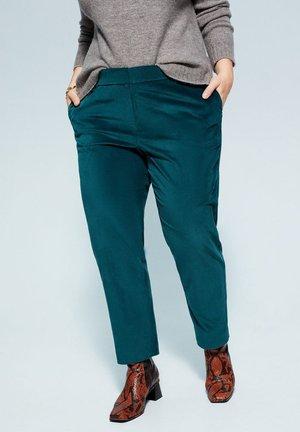 JADE - Trousers - smaragdgrün