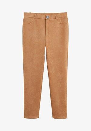 OSLO - Pantalon classique - mittelbraun