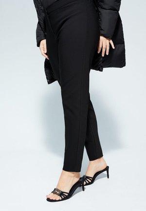MONACO - Spodnie materiałowe - schwarz
