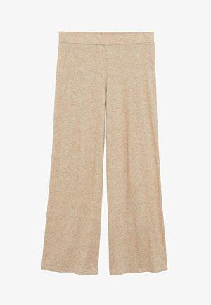 BRUSHED - Pantalon classique - mittelbraun