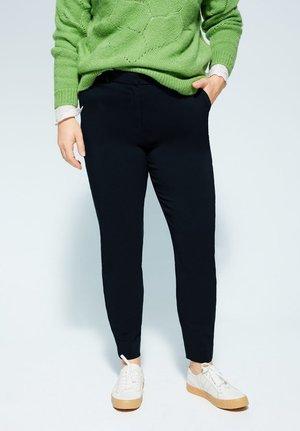 COCOLA6 - Spodnie materiałowe - dunkles marineblau
