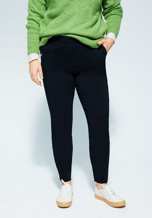 COCOLA6 - Pantalon classique - dunkles marineblau