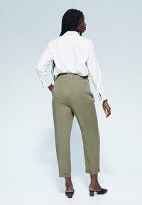 Violeta by Mango - NAIROBI - Trousers - khaki - 2