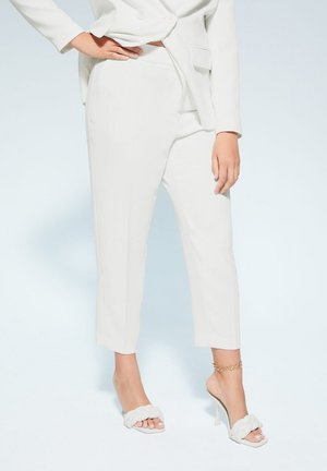 VERONIKA - Trousers - white