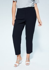 Violeta by Mango - VERONIKA - Trousers - dark navy blue - 0