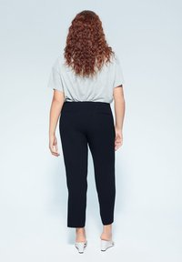 Violeta by Mango - VERONIKA - Trousers - dark navy blue - 2