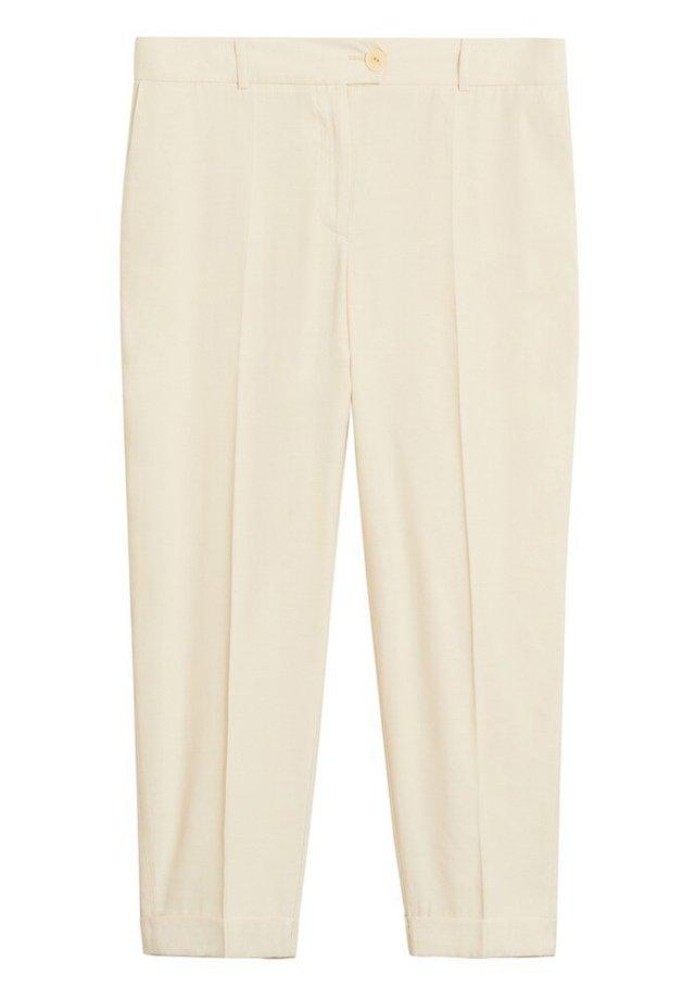 CUPRO6 - Trousers - beige